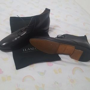 Elanroman men's boots size 42 or 9 . Handmade shoe